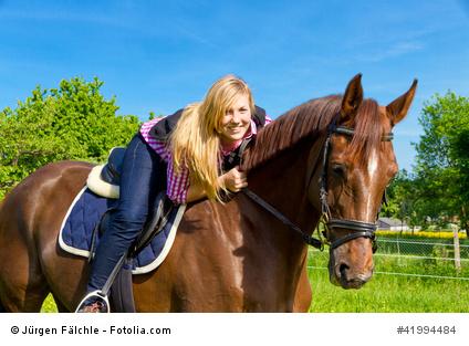 Pferd gut versichert